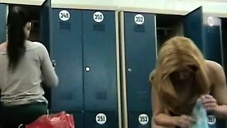 Girls caught on hidden camera in swimming pool changing room