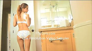 Innocent girl first video