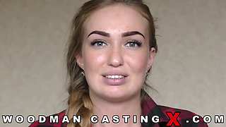 liza billberry Tall Blonde russian Babe Rough Gangbanged at Casting Session