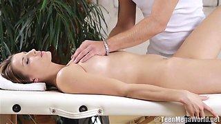 Creampie After Internal Massage - Victoria Daniels