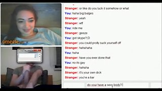 Big cock reactions on omegle 2' compilation