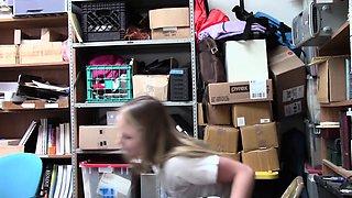Shoplyfter- Catholic Schoolgirl Fucked For Stealing