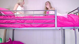 Hot Petite Blonde Teen Fucks Her Best Friends Brother During Sleep Over