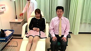 Dazzling Oriental wife indulges in hardcore cuckold fucking
