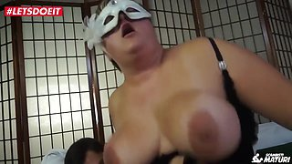Bbw Italian Mature Banged By Young Guy With Big Cock