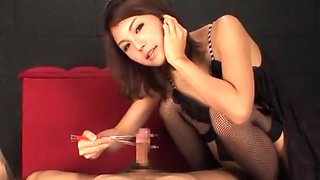 Amazing Japanese chick Azumi Harusaki in Hottest Handjobs, Big Tits JAV video