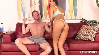 Hairy Pussy Of Slut Gets Fucked Hard By - Ryan Mclane And Gianna Dior
