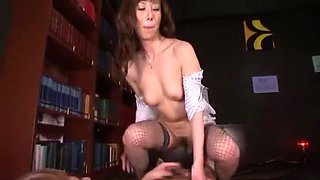 Amazing Japanese whore in Crazy Stockings/Pansuto, Cougar JAV movie