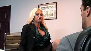 Brazzers - Big Tits at Work - The Man Cums Ar
