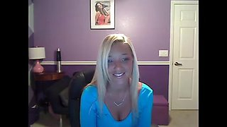 Christina In Her Purple Room 2