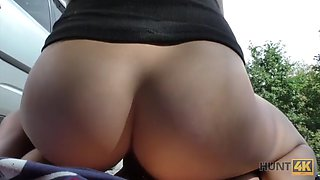 Hunt4k. slutty chick victoria daniels for money agreed to