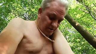 Naughty Teen Ass Spanking by Grandpa And Kissing Fucked