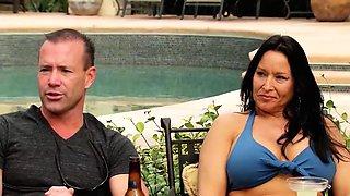 Shameless swinger couple enjoyed fucking with others