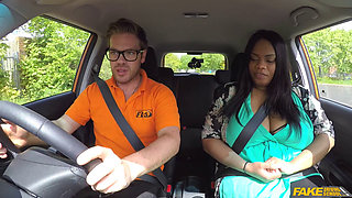 FakeDrivingSchool   Big Busty Black Beauty Banged   Busty Cookie [1080p]