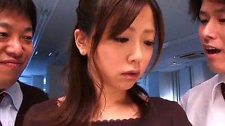 Hottest Japanese model Saki Ninomiya in Amazing Fingering, DP/Futa-ana JAV video