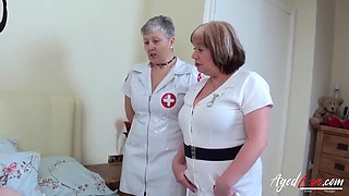 British Housewives Fucked Hard In Threesome
