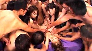 Slender Japanese slut is addicted to hard meat and hot jizz