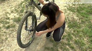 cute girlfriend experience bike cheating