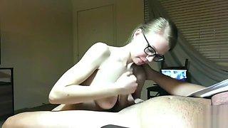 Innocent Cute Teen Girl Next Door Edging Handjob Blowjob Part 1