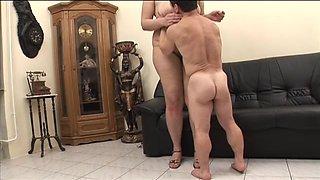 Midget Fucking A Chubby Slut