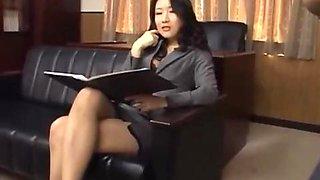Cruel lady boss