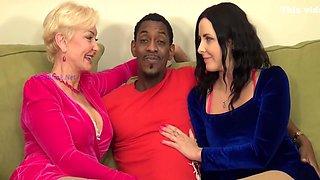 Sweet Alice - Seka And Helena Enjoy Interracial Bbc