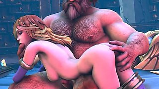 Horny 3D MILFs fucked by big dicks