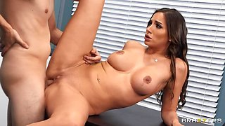 Sex on the Syllabus Free Video With Ricky Spanish & Desiree Dulce - Brazzers