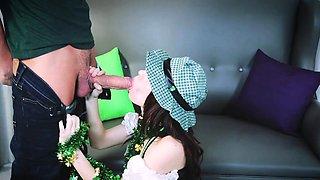 ExxxtraSmall-  Cute Irish Girl Fucked By Monster Cock