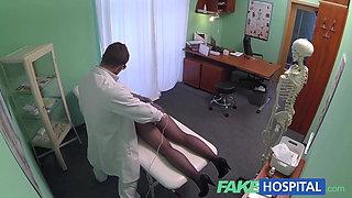 FakeHospital Hidden cameras catch female patient using massa