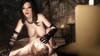 Cartoon 3D Wild first sex in a cave Hentai
