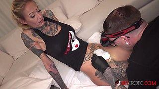 Amanda Doll Pussy Tattoo and Double Penetration - AltErotic