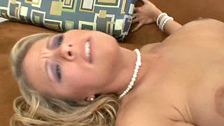 Kayla Synz is a MILF disguised as a bride in sexy lingerie