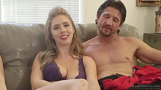 Reagan Foxx joins her friends to share hot sex stories