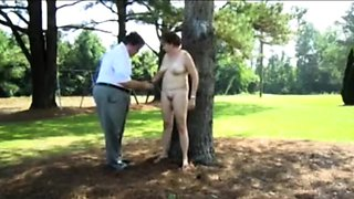 Public punishment in a park