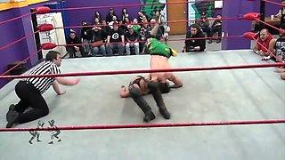 Mixed wrestling poor Alexis