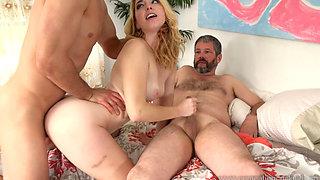 Zoe Parker Cum Eating Cuckold