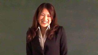 Best Japanese model Reina Fujii in Amazing Cougar JAV movie