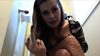 On Webcam from the toilet