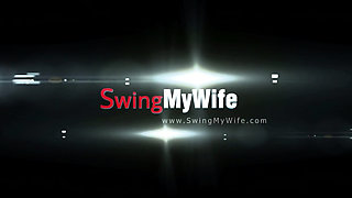 Hubby Allows Wife To Swing