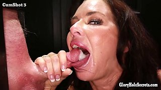 gloryhole secrets Veronica Avluv full of cum