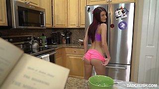 Kinky step dad fucks sex-hungry step daughter Jeni Juice