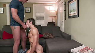Delivery Guy makes Perfect rimming