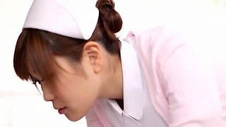 Fabulous Japanese whore Yuna Hoshi in Horny Nurse, POV JAV video