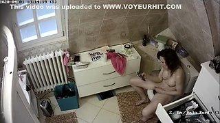 Ip Cam, Milf Masturbation In Toilet 03