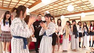 Saki Hatsuki, Maika, Arisu Suzuki, Yu Anzu in Fan Thanksgiving BakoBako Bus Tour 2012 part 1.2