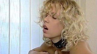 Russian Lesbian Mistress vs Lesbian Dance Machine