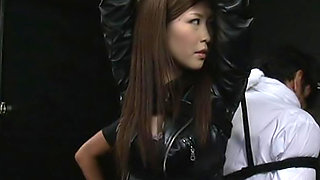 Kotone Amamiya is a lovely Japanese girl who is in bondage
