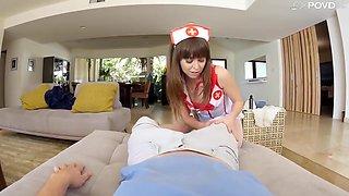 Riley Reid In Raunchy Nurse Rides My Dick!