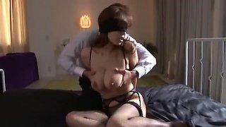 Crazy Japanese chick Sanae Asoh in Exotic Wife, Dildos/Toys JAV clip
